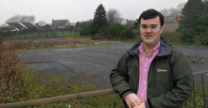 """Cllr Jacob Williams: """"In an ideal world it would be used as a nature trail"""""""
